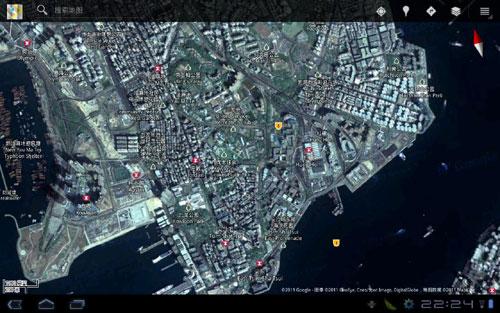 谷歌地图的浏览体验非常好,界面很友好,功能设置非常简单直观,可以看