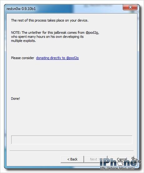 iPod<wbr>Touch4G<wbr>iOS5.0.1完美越狱教程(RedSn0w<wbr>0.9.10b4)