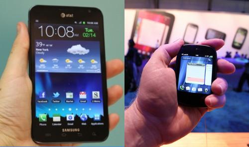 屏幕大小越大越好?智能手机的两难困境