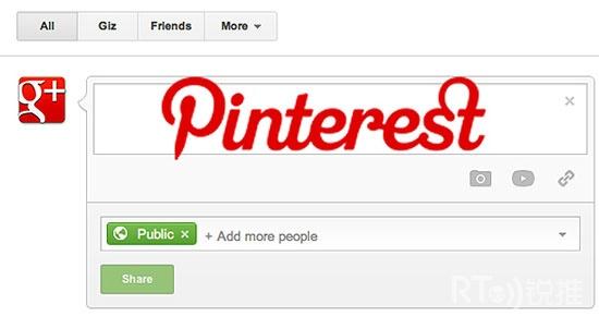 Pinterest将会拯救Google?