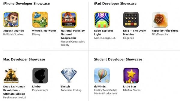 2012苹果设计大奖(ADA)得主名单出炉