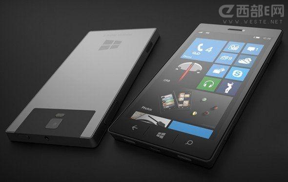 传说中的微软Surface Phone设计图泄露
