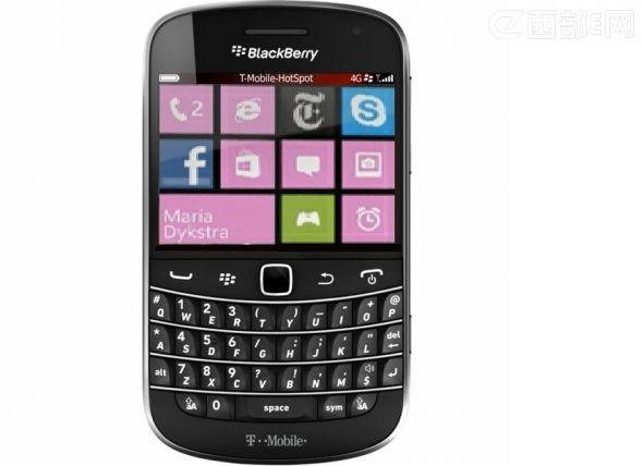 黑莓手机可能加入Windows Phone行列