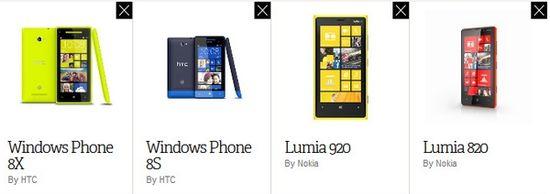 HTC 8X对战诺基亚Lumia 920和820,谁更强?