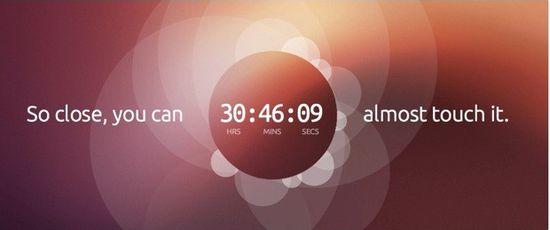 支持触控的Ubuntu OS要来了!倒计时中