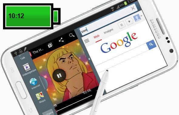 三星手机媒体耗电_10款电池续航性能超长的智能手机_导购_西部e网