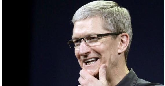 苹果CEO库克:不担心Android市场份额的上涨