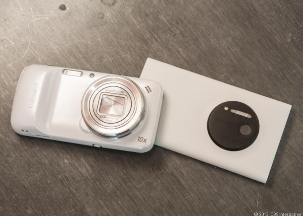 Galaxy S4 Zo回om VS  Lumia 1020测评,谁更杏彩开户强?
