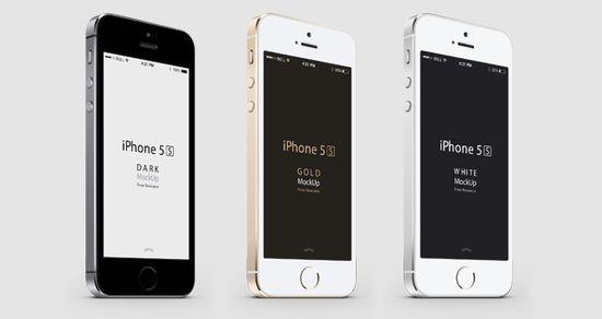 iphone 5s psd分层ui设计源文件素材下载
