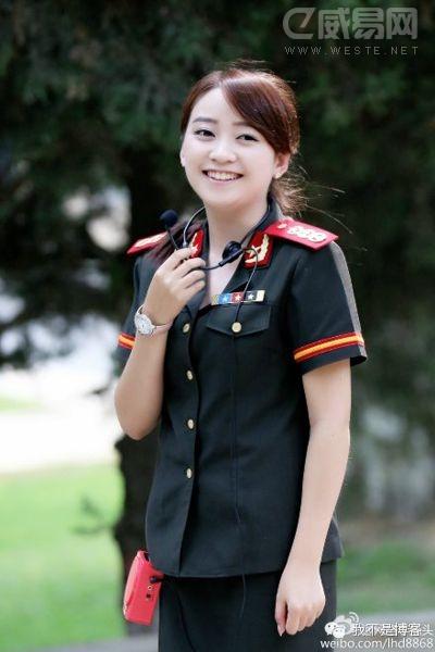 延安最美女导游