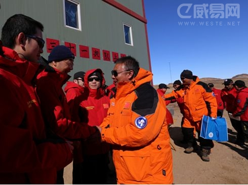 """奥克斯空调随第31次南极考察队胜利""""会师""""南极中山站"""
